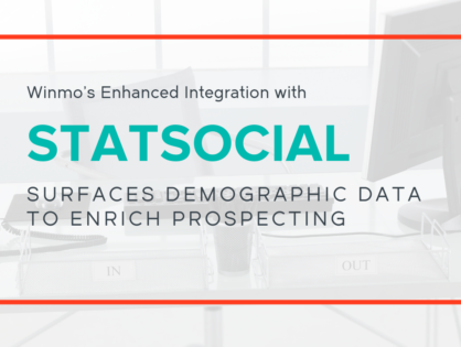 Winmo's Enhanced Integration with StatSocial Surfaces Demographic Data to Enrich Prospecting