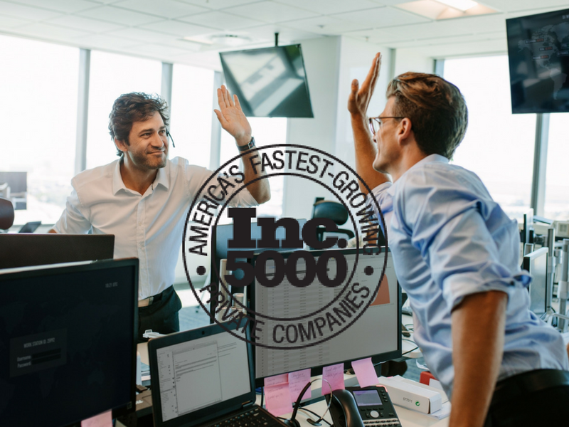 The List Inc. Named on Inc5000 Fastest Growing Companies List