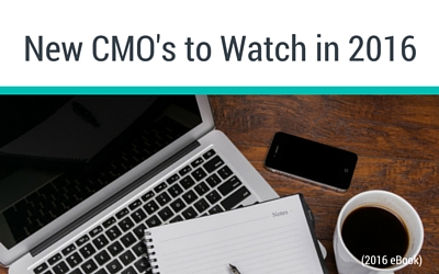 New CMOs to Watch in 2016