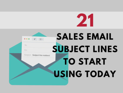 Best Subject Lines For Sales That You Need to Start Using Today