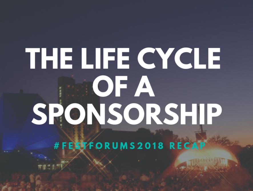 FestForums Wrap-up: The Lifecycle of a Sponsorship