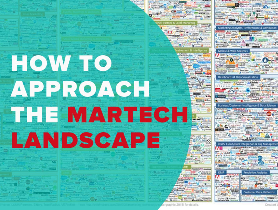 How to Approach Martech Landscape