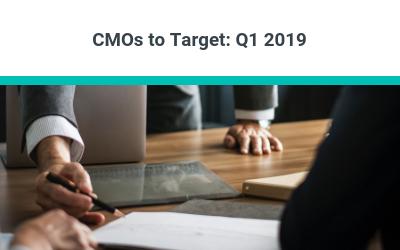 CMOs to Target: Q1 2019