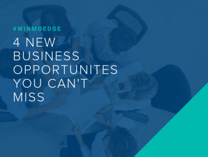 4 New Business Opportunities You Can't Miss