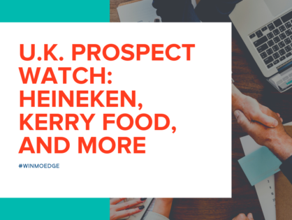 U.K. Prospect Watch: Heineken, Kerry Food, and More