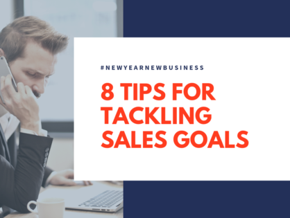 8 Tips for Tackling Sales Goals