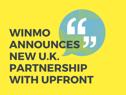 Winmo Announces New U.K. Partnership With Upfront