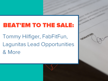 Beat'em to the Sale: Tommy Hilfiger, FabFitFun, Lagunitas Lead Opportunities & More
