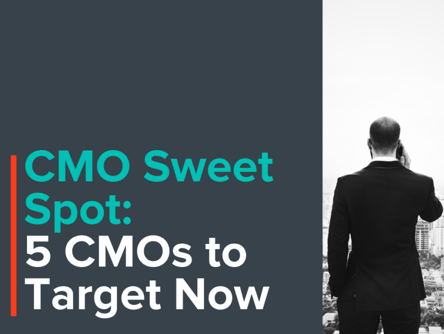 CMO Sweet Spot: 5 CPG CMOs to Target Now