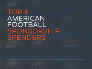 Top 6 American Football Sponsorship Spenders