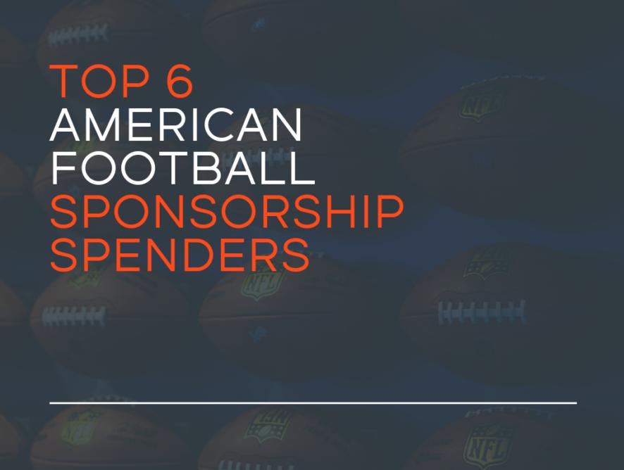 Top 6 American Football Sponsorship Spenders