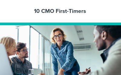 10 CMO First-Timers