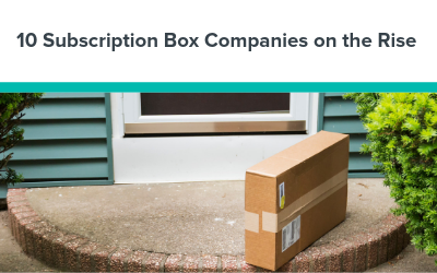 10 Subscription Box Companies on the Rise