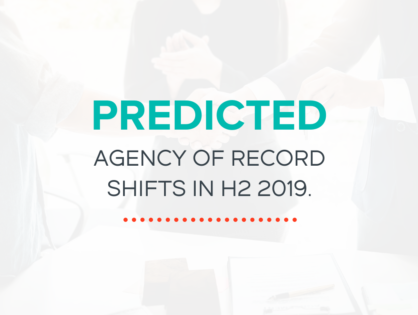 Predicted Agency of Record Shifts in H2 2019