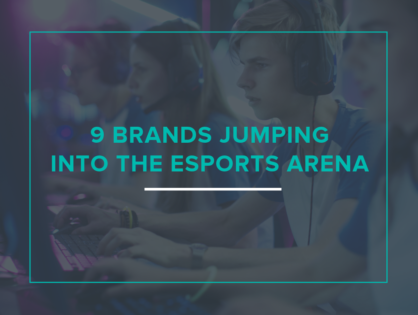 9 Brands Jumping Into the Esports Arena