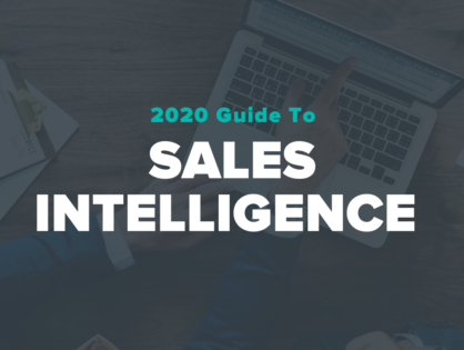 2020 Guide to Sales Intelligence
