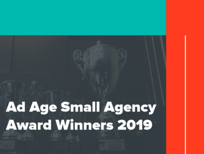 Ad Age Small Agency Award Winners 2019