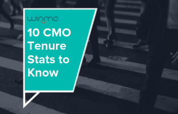 10 CMO Tenure Stats to Know