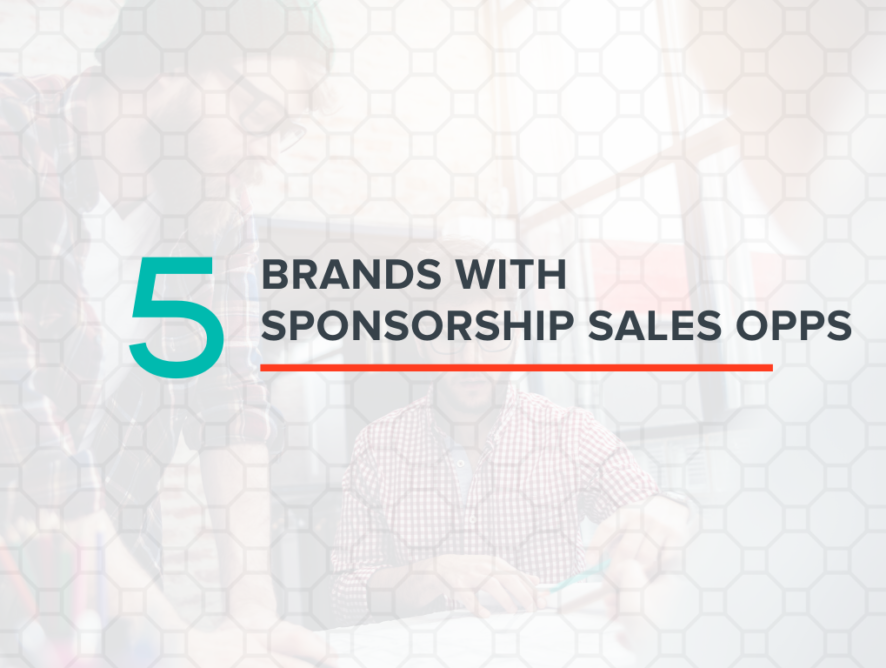 Five Brands with Sponsorship Sales Opportunities