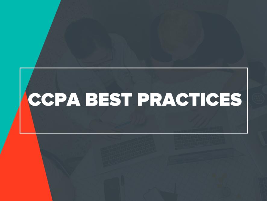 CCPA Best Practices