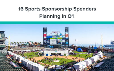 16 Sports Sponsorship Spenders Planning in Q1