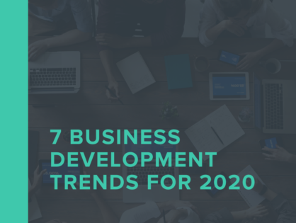 7 Business Development Trends for 2020