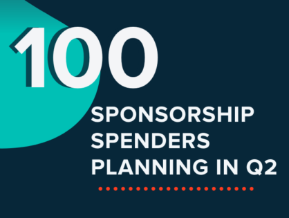 100 Sponsorship Spenders Planning in Q2